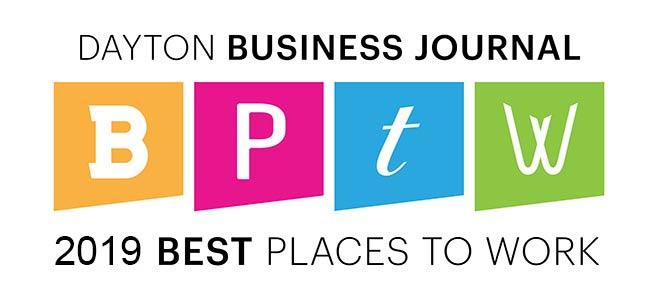 Dayton Business Journal Best Places to work winner 2019