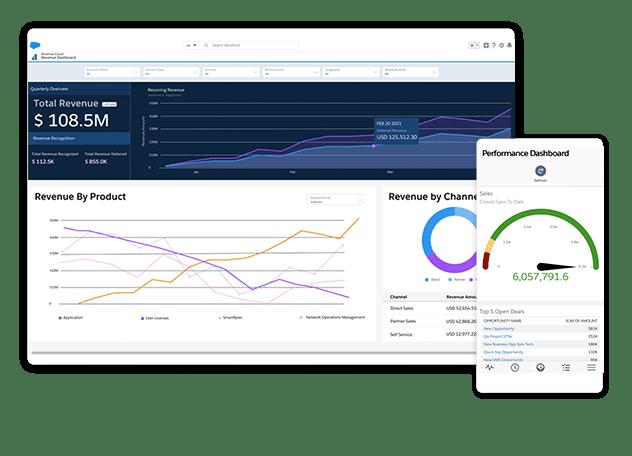 Salesforce Revenue Cloud screenshots