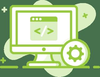 Smartdata development Icon