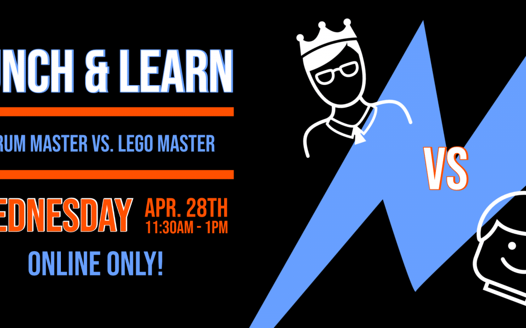 Scrum Master VS Lego Master: Are they basically the same person?